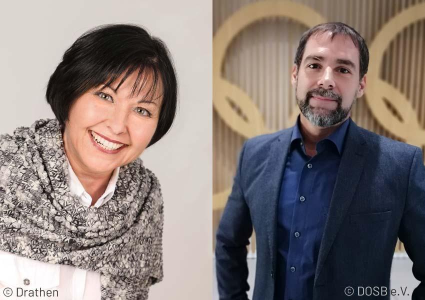 Porträt Angelika Baldus und Dr. Mischa Kläber